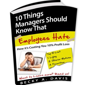 Bad Boss- 10 Things Managers Should Know